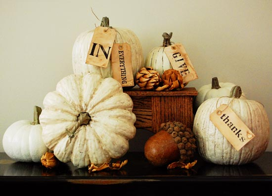 Pumpkin Entry Decor