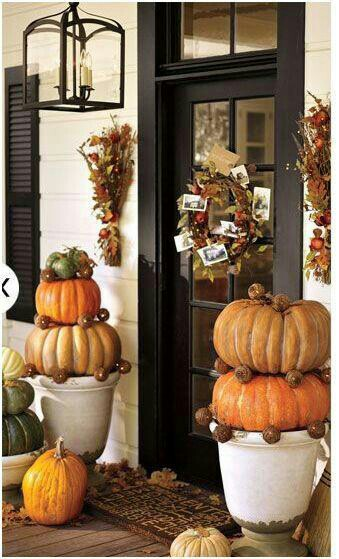 Pumpkin Doorfront