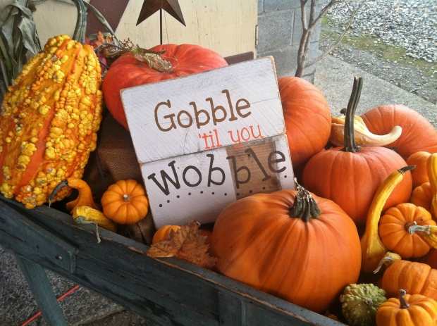 Gobble 'til you Wobble