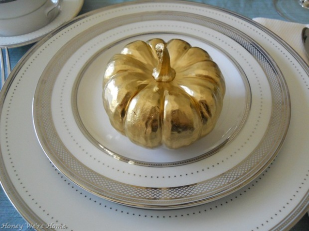 Pumpkin Plate Decor