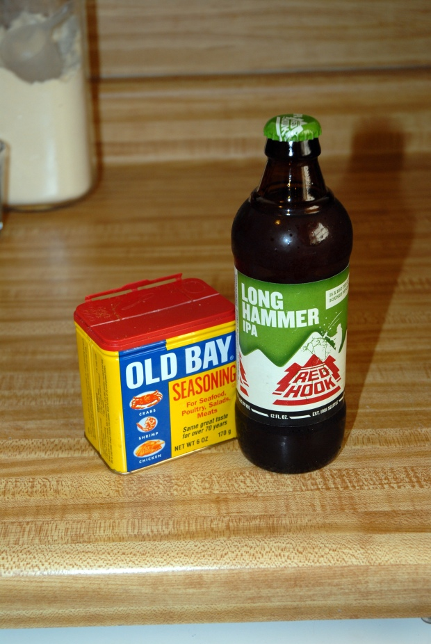 Beer and Old Bay