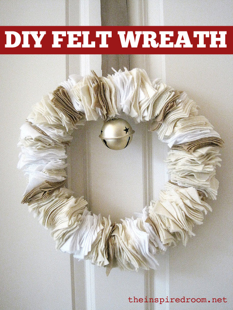diy-felt-wreath