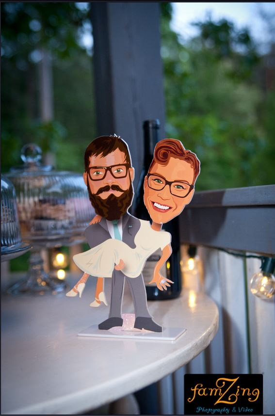 Caricature_Cake_Topper