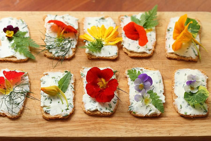 Spring Showers Bring Edible Flowers Recipes