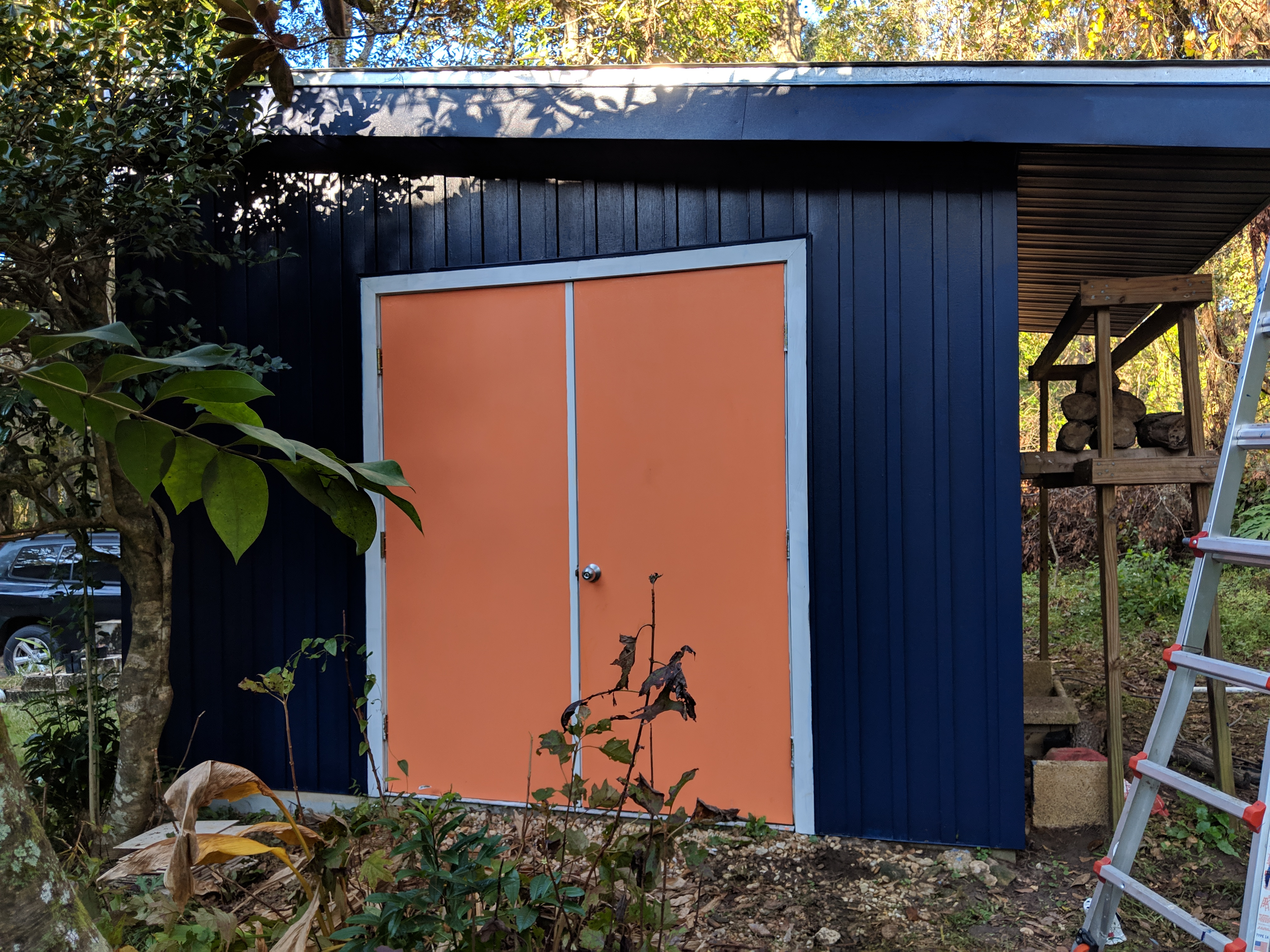Continuing The House Update | Painting the Shed