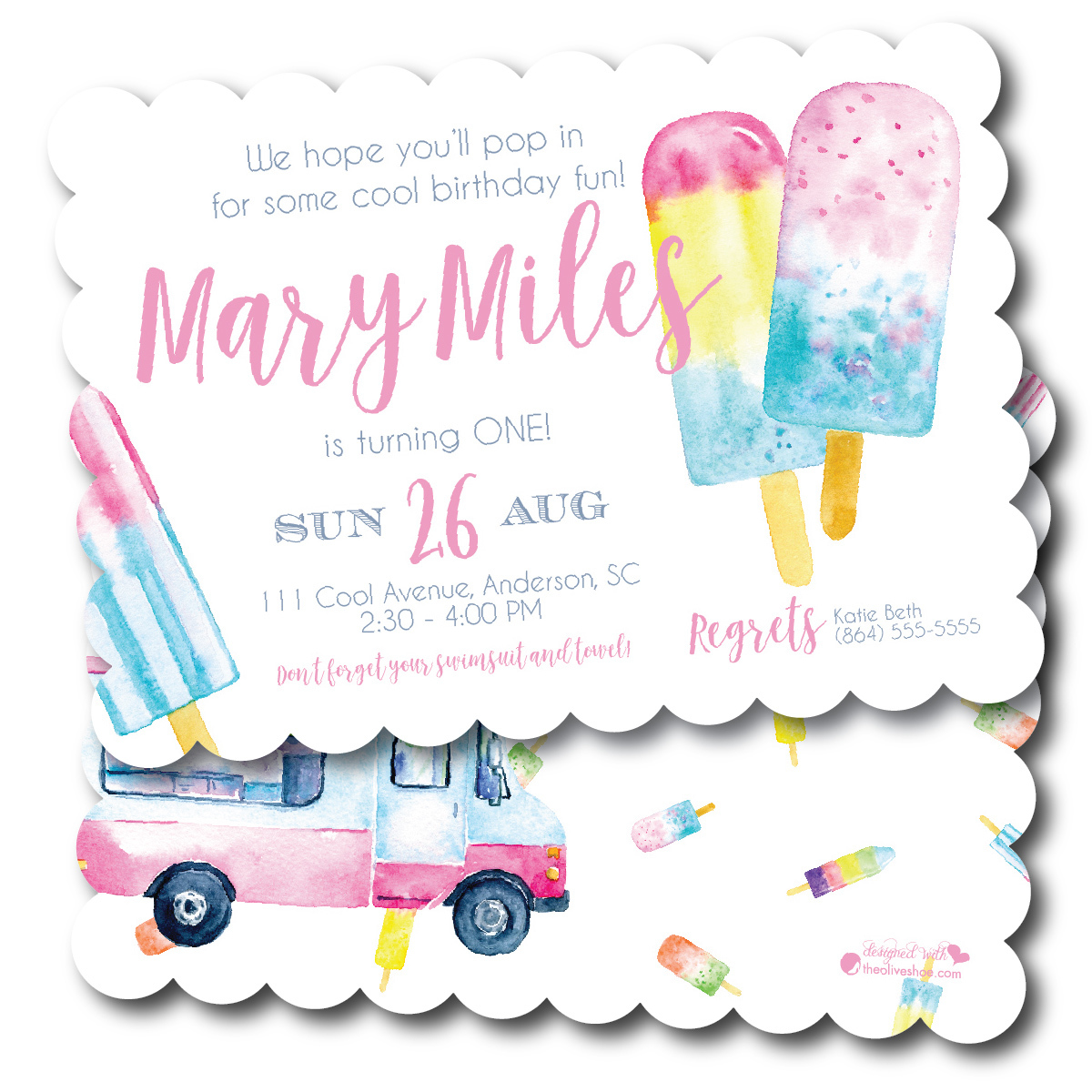 Celebrate Warmer Weather with a Popsicle Party
